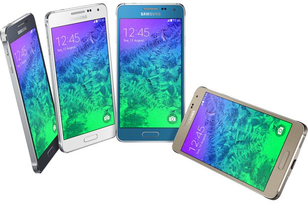 Samsung Galaxy Alpha colors