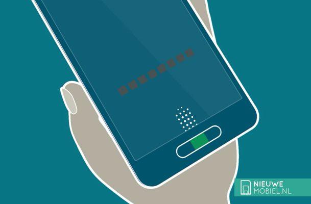 Register fingerprints Samsung