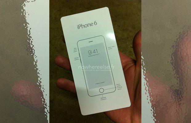 """Opgedoken handleiding iPhone 6 """"verklapt"""" lanceerdatum"""
