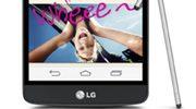LG brengt betaalbare versie van G3 uit met stylus