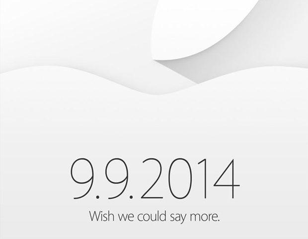 Apple verstuurt uitnodigingen voor 9 september event