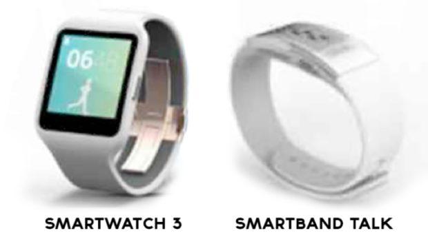 Sony SmartWatch 3 and SmartBand Talk
