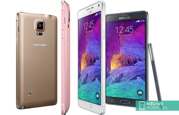 Samsung Galaxy Note 4 colors