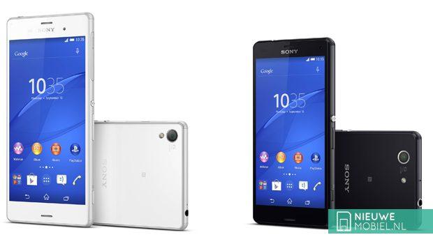 Sony Xperia Z3 en Z3 Compact