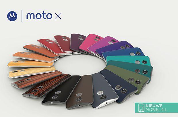 Motorola new Moto X color palette