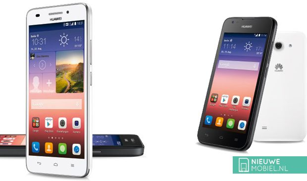 Huawei Ascend G620s and Ascend Y550