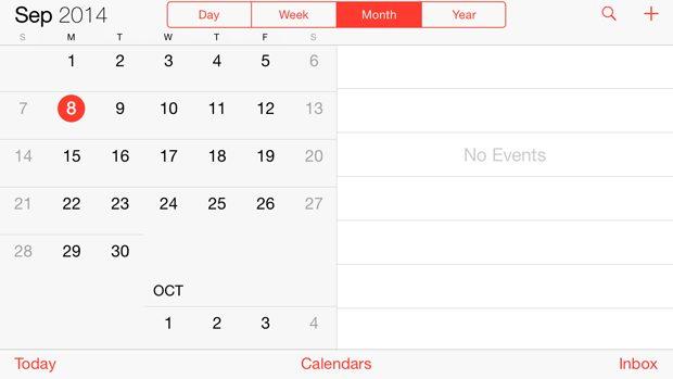iOS simulator screenshot Adaptive UI