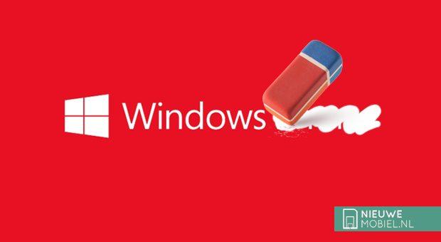 Windows Phone eraser