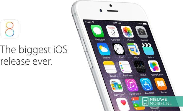 iOS 8 nu al op bijna de helft van alle iPhones en iPads