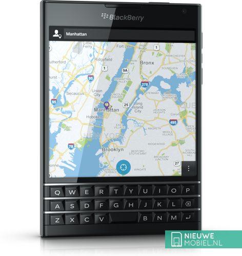 Blackberry Passport angle