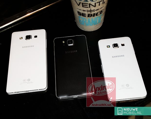 Samsung Galaxy A5, Alpha and A3