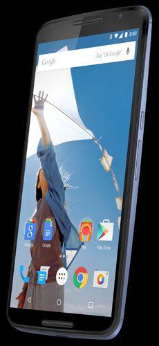 Nexus 6 render @evleaks