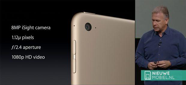 iPad Air 2 iSight camera
