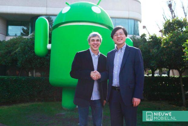 Google and Lenovo
