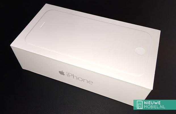 iPhone retail box