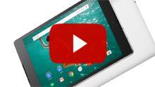 Google Nexus 9 onderworpen aan hands-on