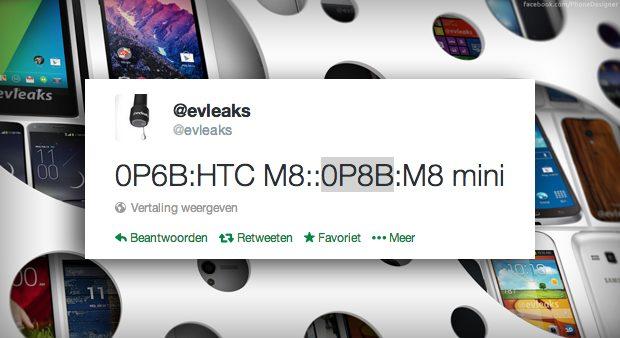 Nog niet aangekondigde HTC M8 krijgt mini-uitvoering