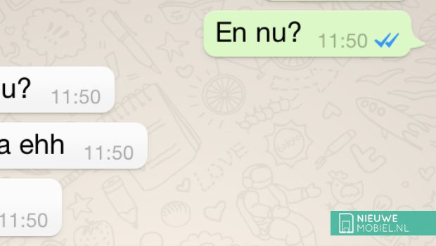 'Blauwe vinkjes' zijn in toekomstige WhatsApp-versie uit te zetten