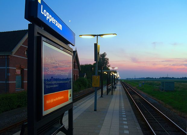 Loppersum train station