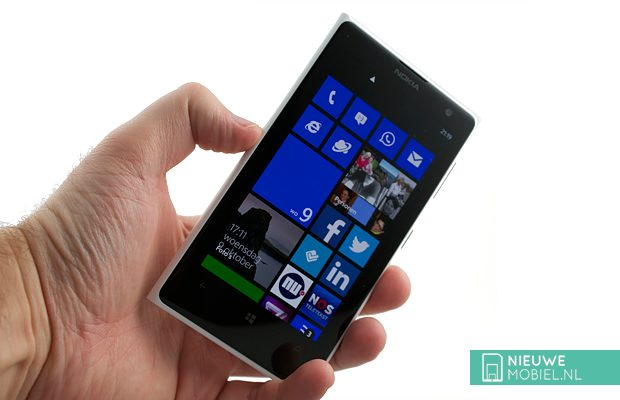 Windows Phone in hand