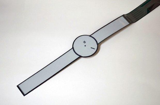 E-paper smartwatch concept