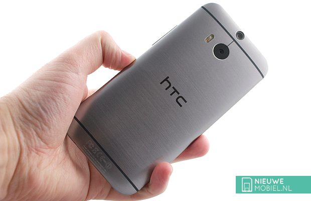 HTC One M8 rear hands on