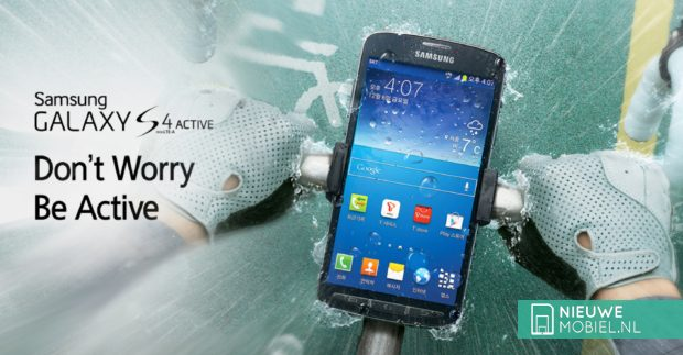 Samsung Galaxy S4 Active bike