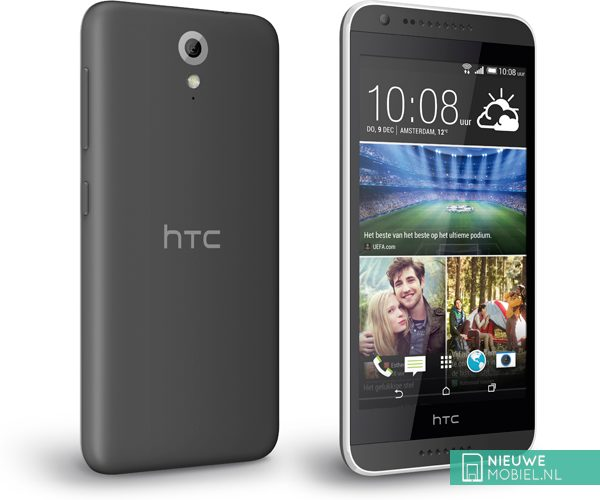 HTC Desire 620 front and back