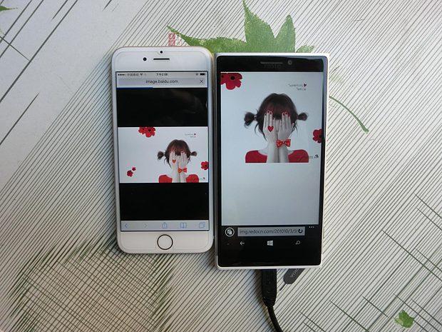 iPhone 6 vs McLaren front