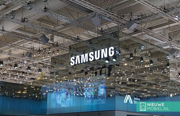 Samsung wall sign
