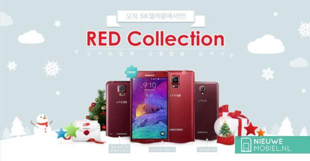 Red Samsung Galaxy Note 4
