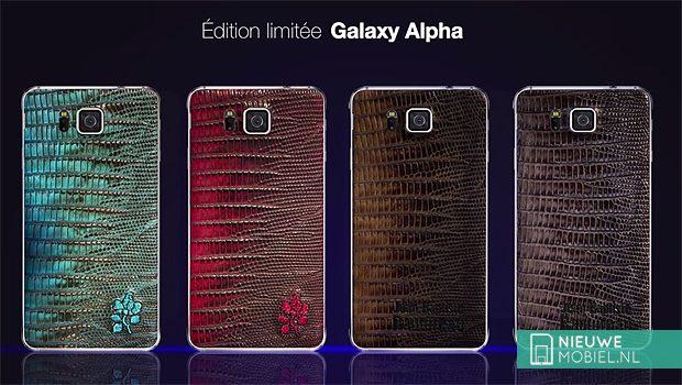 Samsung Galaxy Alpha limited editions