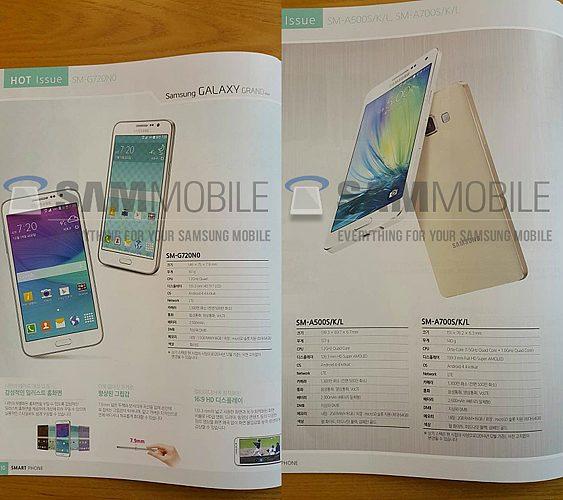 Samsung Galaxy Grand Max and Galaxy A7