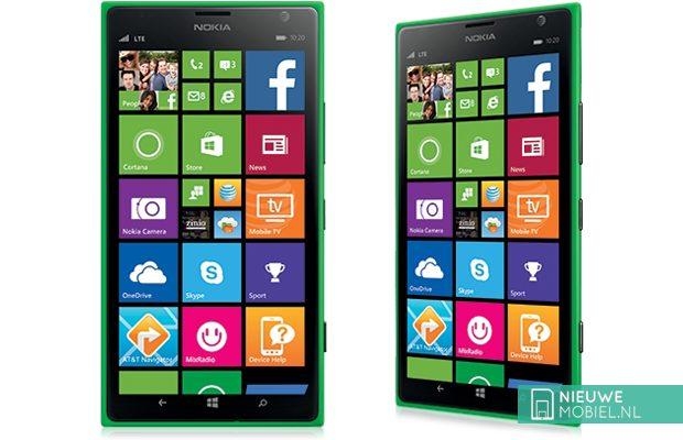 Oosterburen krijgen Nokia Lumia 1520 in het groen