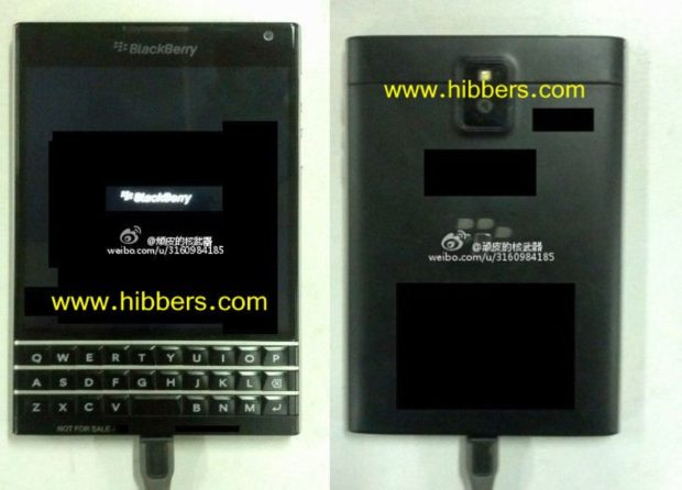 BlackBerry10 prototype Windermere