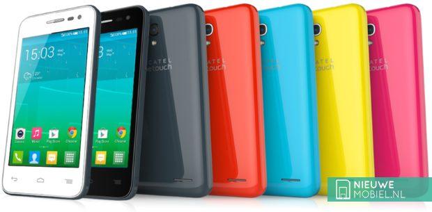 Alcatel One Touch Pop S3 color range