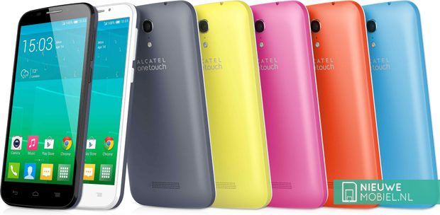 Alcatel One Touch Pop S7 color range