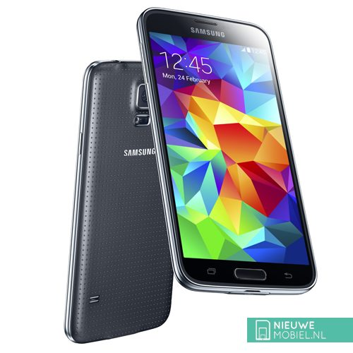 Samsung Galaxy S5 back front