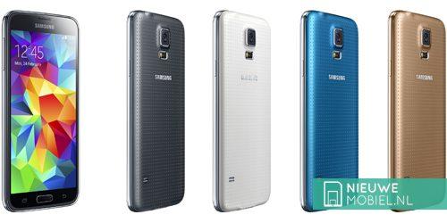 Samsung Galaxy S5 color range