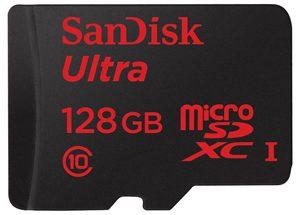 Sandisk 128 GB microSDXC