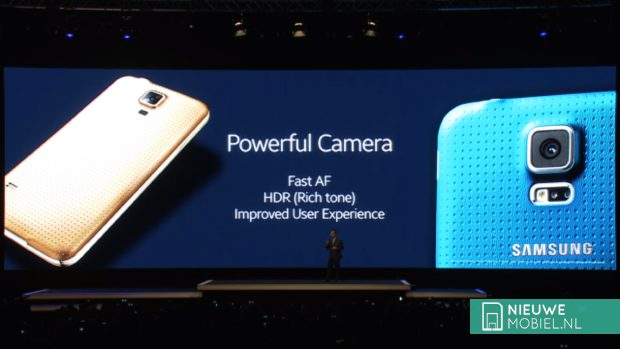 Samsung Galaxy S5 powerfull camera