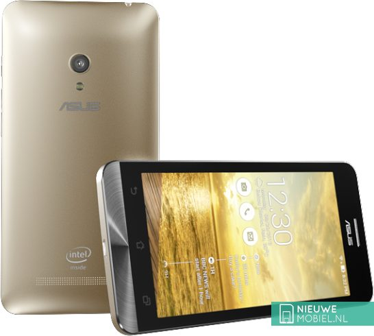 Asus ZenFone 5 front and back