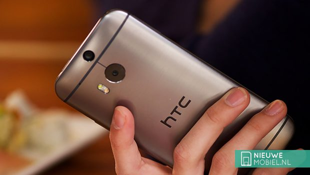 HTC One (M8) in hands