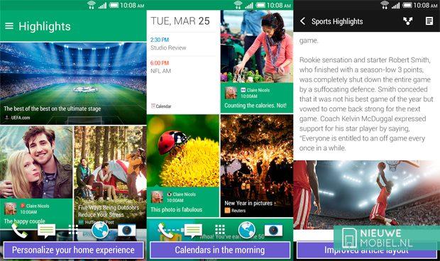 BlinkFeed binnenkort ook beschikbaar voor niet HTC-telefoons