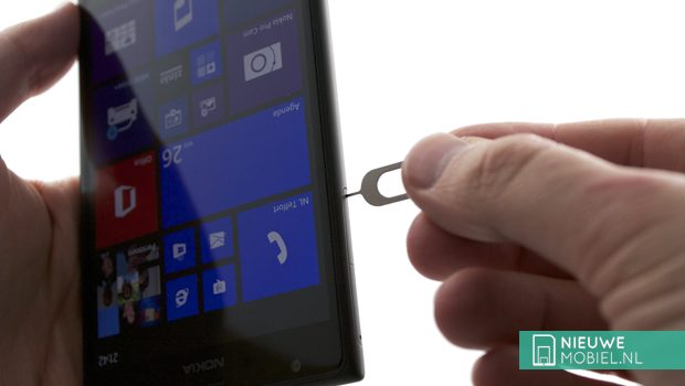 Nokia Lumia 1520 sim eject