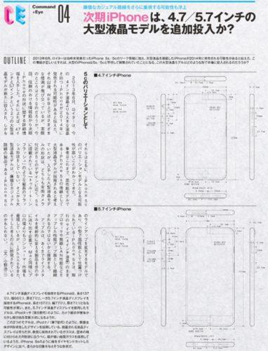 Apple iPhone 6c render