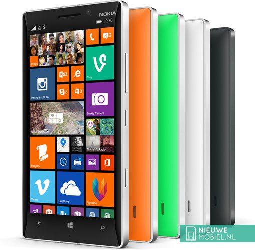 Nokia Lumia 930 colors