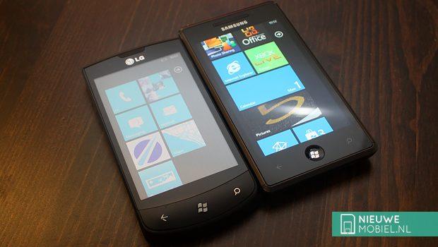 LG Optimus 7 and Samsung Omnia 7