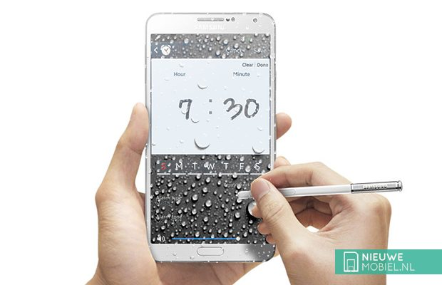 Samsung Galaxy Note 4 water resistant