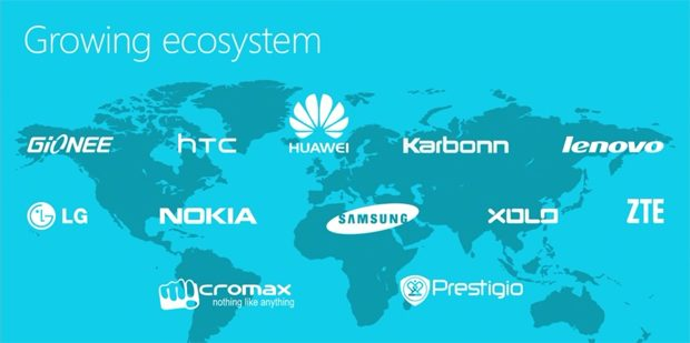 Windows Phone ecosystem